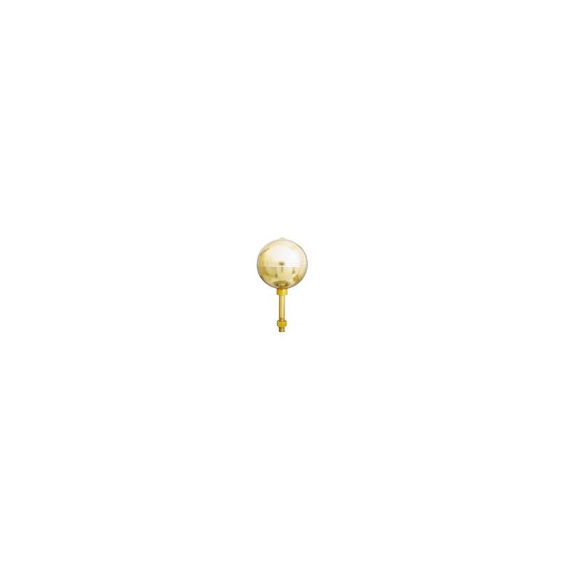 Aluminum ball gold anodized