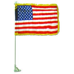 Auto fender flag set