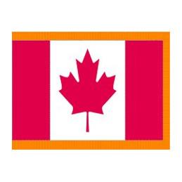 Drapeau canadien,ensemble complet