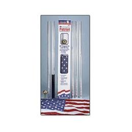 Aluminum residential flagpole