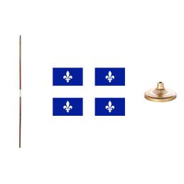 Quebec flag kit.