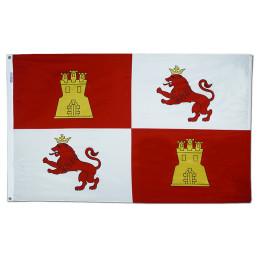 Lions & Castles flag,  3 x 5 ft.