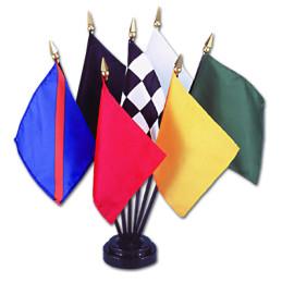 course automobile, les 7 drapeaux officiels, format