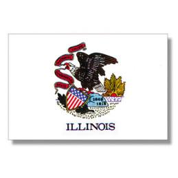 Illinois flag, buy
