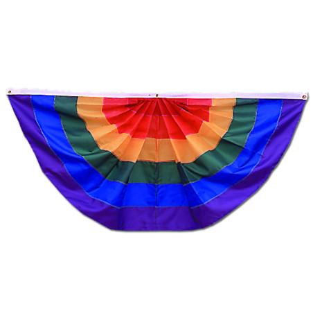 Rainbow full fan