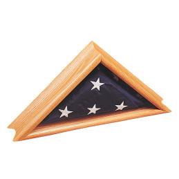 Commemorative flag cases