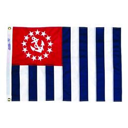 u.s.Yacht squadron flags