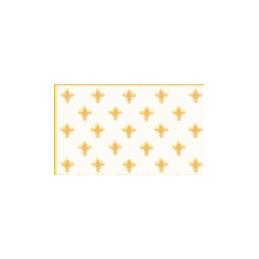 Gold french fleur de lis flag