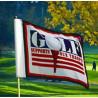 drapeaux de golf