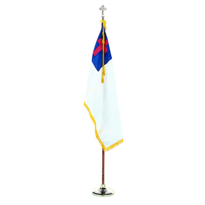 Set of Christian flag,