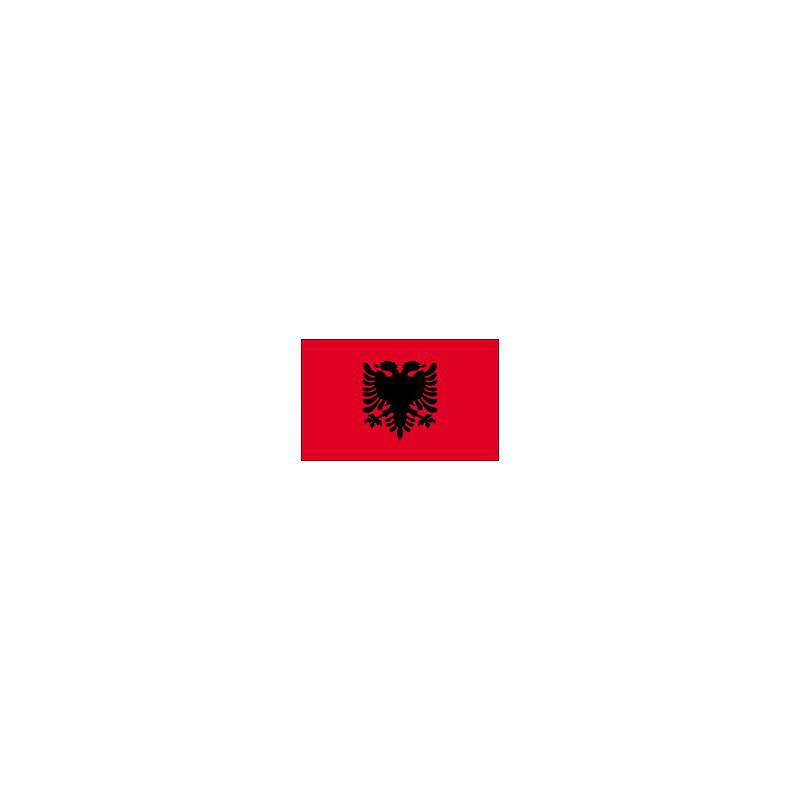 Drapeau Albanie